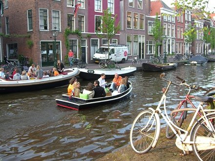 The Netherlands, Leiden. Queen's birthday