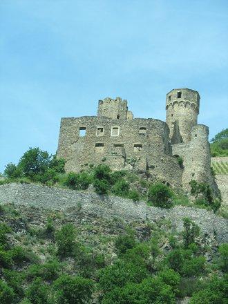Burg Ehrenfels, Near Rudesheim, Hesse, Germany