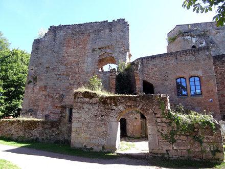 Nanstein Castle near Landstuhl
