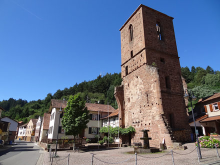 Appenthal monastery ruin