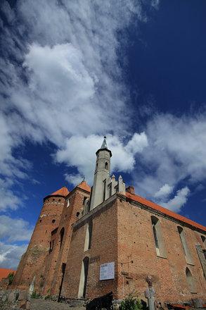 Poland, Castle in Reszel / Zamek w Reszlu