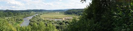 San - widok z góry Sobień