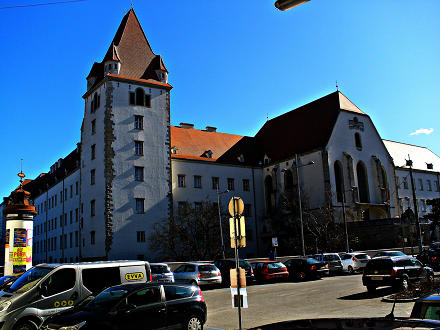 Wiener Neustadt, Lower Austria, Theresianische Militärakademie, Theresian Military Academy (escuela