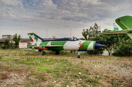 MiG-21 side view