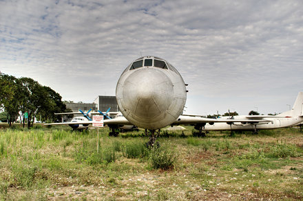 Tu-174 front view