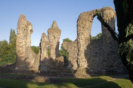Abbey Garden Ruins