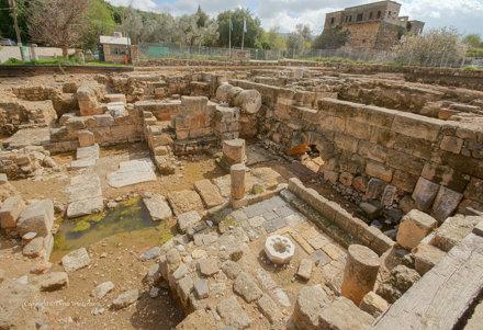 Banias Excavations