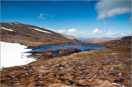 A very small Lochan on Ben Macdui