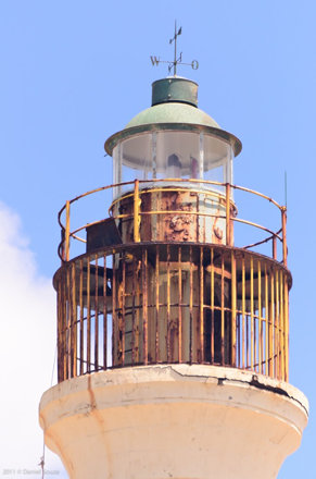 rusty lighthouse