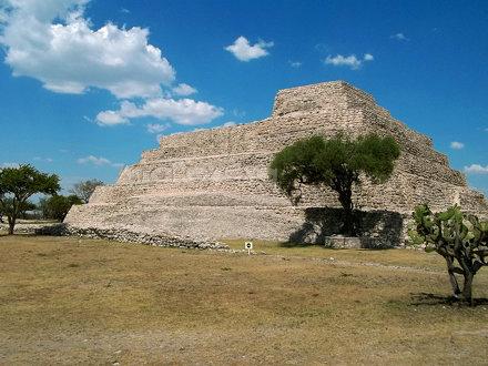 Cañada de la Virgen piramide principal