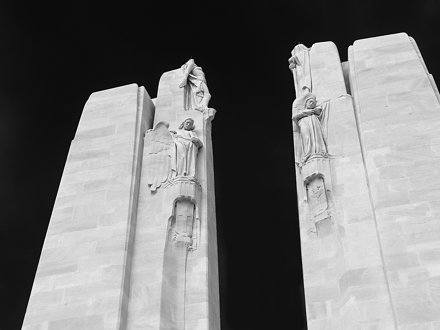 Knowledge and Truth, Vimy Monument, France
