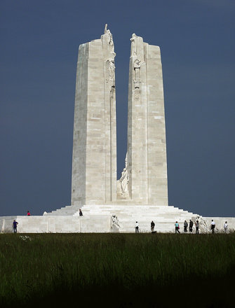 The Canadian National Vimy Memorial