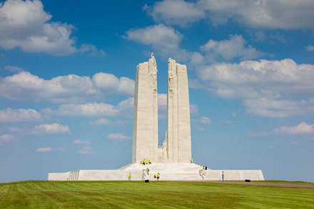 Canadian National Vimy Memorial, Vimy, France