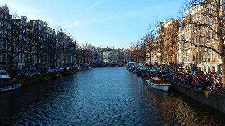 Amsterdam, Keizersgracht Canal [08.03.2014]