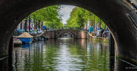 2015 - Amsterdam - Seven bridges of Reguliersgracht (Regulator's Canal)