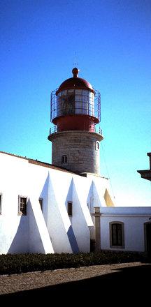 Leuchtturm am Cabo de São Vicente (Portugal)