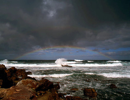"""I have set my rainbow in the clouds..."" - Cape of Good Hope"