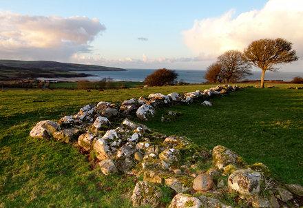 View over to Traeth Lligwy