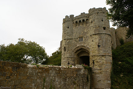 Carisbrook Castle, Isle of Wight