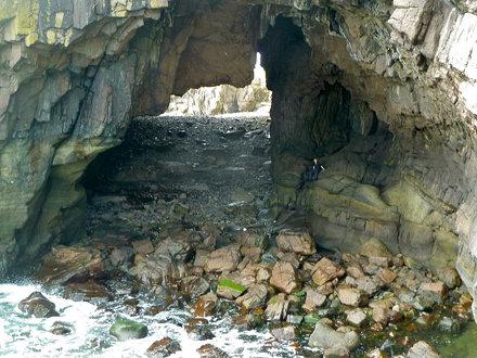 Carsaig Arch