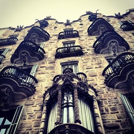 #barcelona casa calvet, by #gaudi