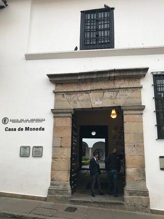 Casa de Moneda, Bogotá