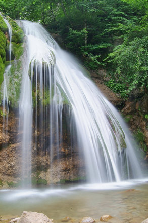 Waterfal Dzhur-dzhur, Crimea