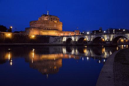 Quanto sei bella Roma quando è sera