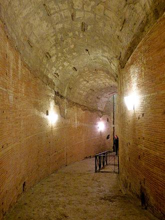 Rome - Castel Sant'Angelo, spiral ramp (2)