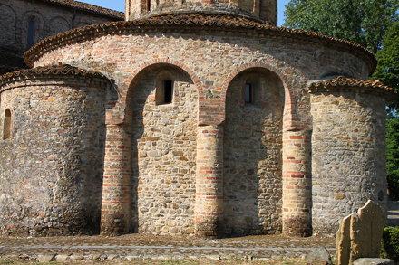 Eglise et baptistère de Vigolo Marchese