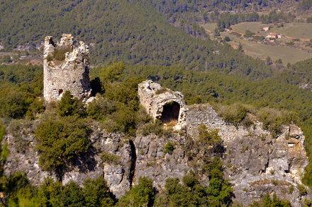 Castell de Pinyana, Querol, Alt Camp