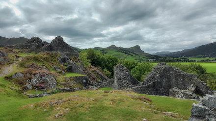 Castell y Bere, Llanfihangel-y-pennant, Snowdonia, Gwynedd, Wales, UK.