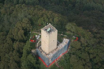 Baradello Tower basement restoration