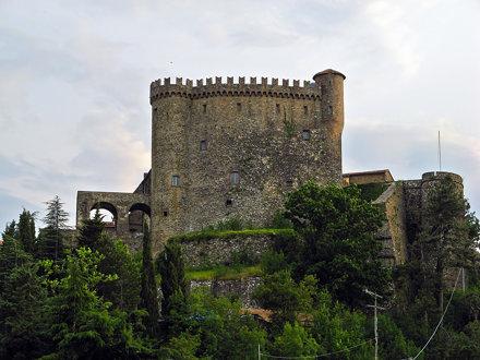 Il castello Malaspina di Fosdinovo (MS)