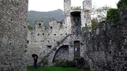 Castello di Vezio Courtyard