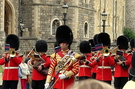 Troca da guarda em Windsor / Change of Guard at Windsor