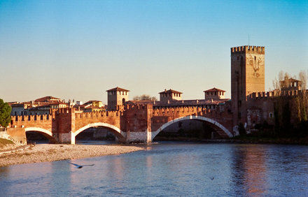 Castelvecchio and Ponte Scaligero, Verona