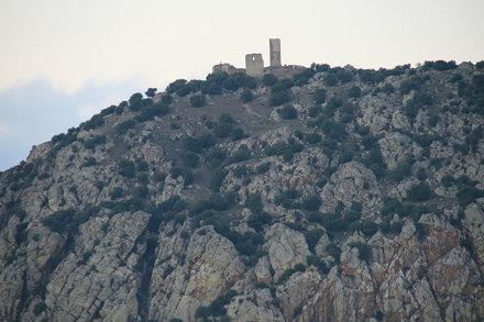 castillo desde la cumbre