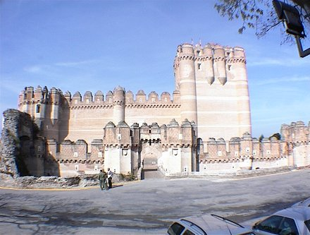 Castillo - Vista frontal
