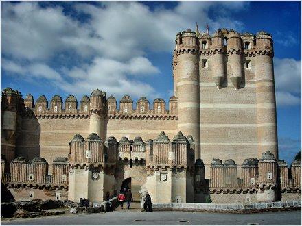 2628-Castillo mudejar de Coca (Segovia)