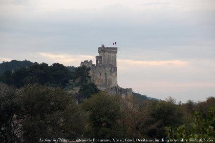 Le Jour ni l'Heure 1244 : château de Beaucaire, XIe s., Gard, Occitanie, lundi 19 novembre 2018, 16: