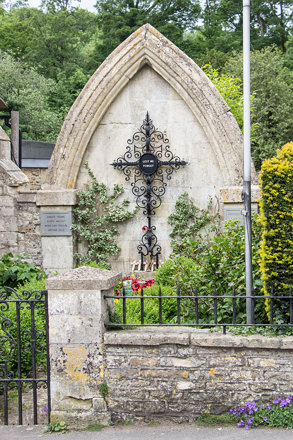 War Memorial, Castle Combe, England