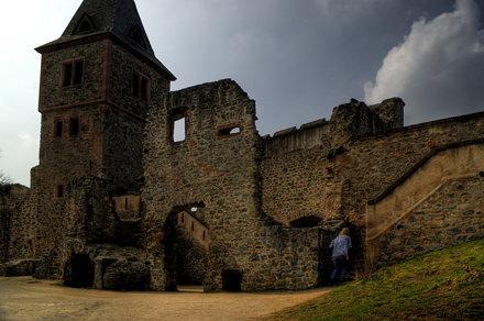 Burg Frankenstein ~ hdr