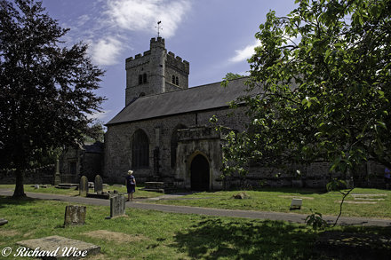 Priory Church of St Mary, Usk, Monmouthshire, Wales, UK.