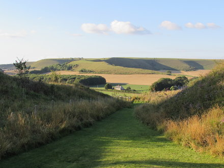 Mere: Castle Hill (Wiltshire)