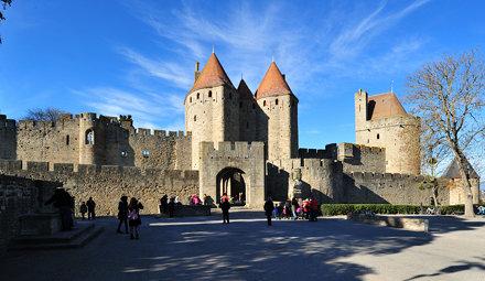 Carcassonne, Languedoc Roussillon, France DSC 5968