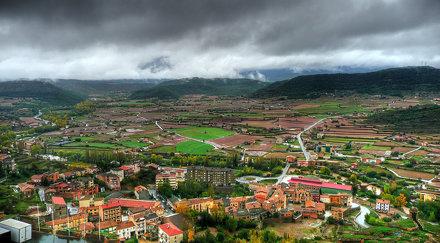 Vista desde el Castillo de Cardona