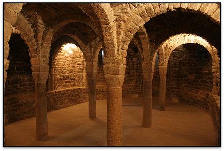 Cripta, Col·legiata de St. Vicenç, Cardona