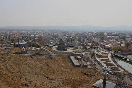 View from Kars Kalesi