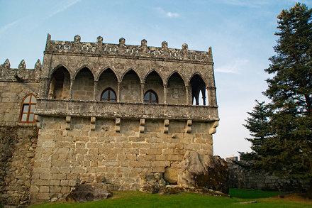 Arcos del Castillo de Soutomaior